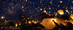 Lights in the Night (Robby Ryke) Tags: hope amazing michigan grandrapids fireinthesky 20000 paperlanterns artprize