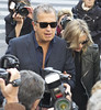 Mario Testino and Kate Moss Paris Fashion Week Spring/Summer 2013 - Stella McCartney - Outside Arrivals Paris, France