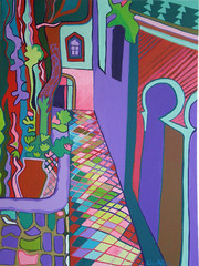 The Old Casino (Liz Allen) Tags: portugal painting casino algarve caldas monchique lizallen caldasdemonchique calcadas