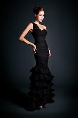 9158 BLACK (DALIA MACPHEE GOWNS) Tags: 9158