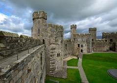 Caernarfon Castle - Storm Coming (ricklus) Tags: world uk castle heritage museum wales river site britain north royal walls fortress welch gwynedd caernarfon fusiliers cadw regimental edwardi seiont ricklus