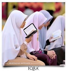 Read! | Bacalah! (AnNamir c[_]) Tags: muslim islam hijab muslimah recite malaysia quran banat tudung solehah hejab alquran kualakubu jubah kerudung iqra khatamalquran darulquranjakim flowersofislam annamir abadaniell darulquran iluvislam muktasyaf