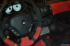 No nonsense speedo. (JayRao) Tags: red white paris france nikon dubai unique oneofakind extreme uae ferrari enzo u1 modified expensive rare mig 2012 v12 tuned gemballa d3100 arabsupercar
