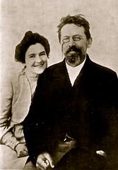 Antón Chéjov y Olga Knipper