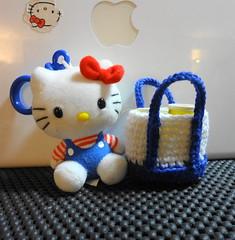 Amigurumi handbag charms: mini handbags/Totes (OrangeZoo) Tags: handmade crochet charm handbag totes accessory aimgurumi
