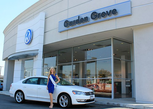 Talking about the Passat TDI with Miss CA