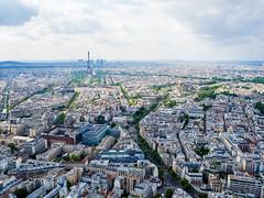 Paris (LandAndNightscape) Tags: street city paris four cityscape tour view den olympus toureiffel micro third vue ville ladfense omd haut tourmontparnasse mft