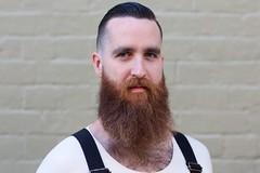 116/200 - Charlie [Explored] (evansrobinson // Armchair Photography) Tags: 100strangers newtown beard vintage retro street portrait naturallight overalls barbershop hawleywoods evansrobinson armchairphotography 5dmarkiii 85mm12lii