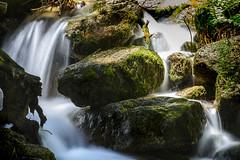 Cascade closup in Fish Valley (speedcenter2001) Tags: sierranevada sierra highsierra california wilderness anseladamswilderness mountains backpacking backcountry nature hiking waterfall nikonseriese75150mmf35 polarizer