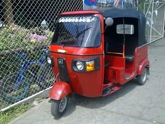 Motoriksha in Mayogalpa (Ometepe Island, Nicaragua)