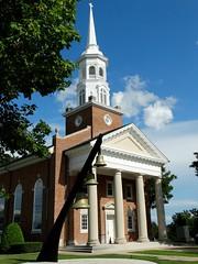 Three Bells (e r j k . a m e r j k a) Tags: pennsylvania adams gettysburg rural church lincolnhighway us30 erjkprunczyk