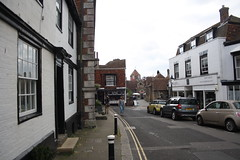 Street (My photos live here) Tags: market street cars buildings posts rye east sussex england town village urban cinque port canon eos 1000d
