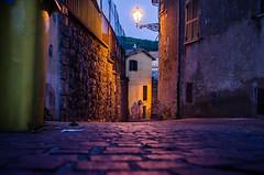 Borghi d'Italia (enricoparavani) Tags: italia notturno allumiere borgo