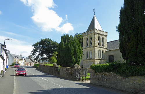 St Cuthbert's church Straiton