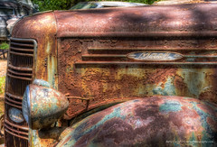 Mack delivery truck front end (Barry Cruver) Tags: oldcarcity georgia mack decay decaying delivery forgotten front patina rust rusting truck vintage white unitedstates