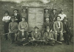 Broken Hill Rifle Club - 1921-1922 (Aussie~mobs) Tags: rifleclub brokenhill districtshield 1922 winning team group australia vintage newsouthwales barriertrophy grant ball whinnen mackay hill james thomas picken gange macarthur cheffirs