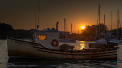 Portsmouth NH - sundown (jamesmerecki) Tags: sunset sunsetting portsmouth nh new hampshire piscataqua river colors