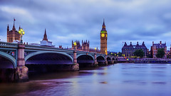 Night of Big Ben (Hellwalkerdh) Tags: ifttt 500px river thames london big ben bridge night city uk britain landscape tower palace travel england