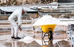 Old Salt (stevewanstall) Tags: salinas riomaior fontedebica santarem saltpan salt portugal