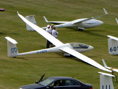 G-CKOI / AB Sportine Aviacija LAK-17AT cn 183 Dunstable Downs 18Aug16 (kerrydavidtaylor) Tags: glider poweredglider sailplane