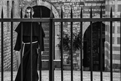 The Friar (Maurizio Imbriale) Tags: assisi bw blackwhite collectingsouls creativecommons decisivemoment explore faces flickr flickriver italy maurizioimbriale moments monochrome nikond3200 portrait scenephotography candidpeople portraitstreet