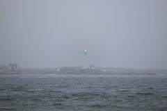 Misty shore (El Alcalde de l'Antartida) Tags: lighthouse ocean sea navigation shore coast maritime boston massachusetts newengland harbor light hull rocks historic landmark coastal faro mare oceano navigazione luce scogli costa