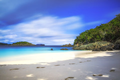 Turtle Bay Beach (NorthFla) Tags: stjohn virginislands usvi longexposure leefilters leebigstopper beach ocean sand shore caribbean