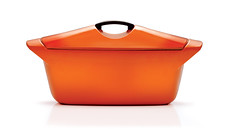 coquelle flame (clascaris) Tags: fabpan orange lecreuset raymondloewy 1958 cassoulet