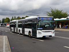 Iveco Urbanway 18 - Disneyland 75 (Pi Eye) Tags: bus autobus articul gelenk disneyland eurodisney disney navette shuttle irisbus iveco urbanway urbanway18