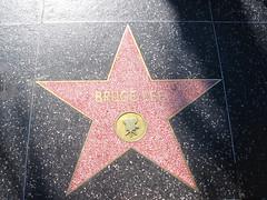 Bruce Lee - Hollywood (lukedrich_photography) Tags: us usa northamerica america unitedstatesofamerica unitedstates  vereinigtestaaten    estadosunidos tatsunis   californie    california southerncalifornia hollywood walkoffame star boulevard famous terrazzo brass sidewalk entertainment tourist brucelee actor movie canon powershot a60
