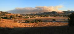 Loma Prieta Fire (ofarrl) Tags: usa california sanjose almadenvalley morganhill lomaprieta uvas wildfire fire mountain westcoast landscape bayarea southbay lomafire