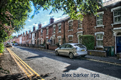 worcester_02 copy (amancalledalex) Tags: sunny summer august hot worcester worcestershire midlands heritage old outdoors houses terraced cars road residental