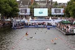 Amsterdam City Swim - Finish a/d Keizersgracht (Bobtom Foto) Tags: als city swim amsterdam zwemmen veronica sport keizersgracht