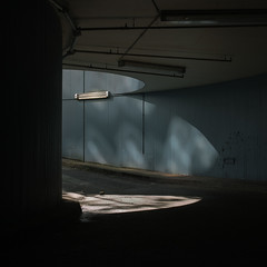 (matthiaswerner) Tags: light licht garage beton hamburg steilshoop tiefgarage einfahrt canon sigma 35mmart