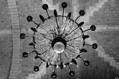 IMG_0944 ( Lettie Photography ) Tags: lights turenne lacollgialenotredamesaintpantalon lacollgialenotredame eglise eglisedeturenne corrze correze limousin blackandwhite blackwhite bnwsociety bnwmagazine noiretblanc noirblanc nb lumires
