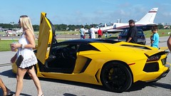 Lamborghini Aventador (Michel Curi) Tags: tampa tampabay davisisland fl florida lovefl dupontregistry carsandcoffee peterknightairport yellow lamborghini cars auto automobile coches vehculos vehicle automvil carros car voiture automobiel transportation transport exotics