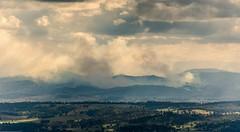 up in smoke (dustaway) Tags: smoke burnoff loganvalley landmanagement sequeensland queensland australia landscape spring australianlandscape