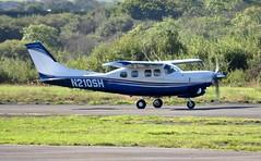 N210SH (goweravig) Tags: n210sh cessna p210 centurian visiting aircraft swansea wales uk swanseaairport pressurised