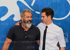 Mel Gibson,  Andrew Garfield (ChinellatoPhoto) Tags: venezia venice venicefilmfestival mostradelcinemadivenezia venezia73 attore attrice actress actor regista director melgibson andrewgarfield