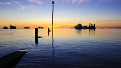23092016-_DSF2356 (yanbonnet) Tags: coucher soleil larochelle charentemaritime paysage landscape ocean sea boat bateaux port mer fuji xt2 yannbonnet sunset