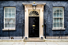 INSIDE NUMBER 10 (ZAC DES) Tags: street iconic dlsr front door prime minister uk government brexit windows cat larry david cameron conservative labour black contrast history united kingdom photography downing urban colour thisislondon