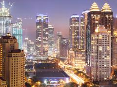 SCBD (Amir Budiman) Tags: jakarta sudirman scdb senayan senja gedung pencakar langit bulding evening dusk city kota indonesia dki cahaya