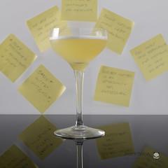 Neil's Sticky Note (peterriordan70) Tags: cocktails stickynote stilllife studio
