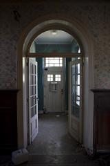 La lumire au bout du couloir (Nutena) Tags: old house window dark decay urbanexploration maison desolate fentre decaying couloir vieux ambiance urbex dlabr tnbreux dfrachi