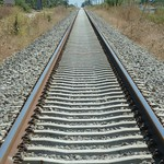 "Walking the rails <a style=""margin-left:10px; font-size:0.8em;"" href=""http://www.flickr.com/photos/59134591@N00/7912073224/"" target=""_blank"">@flickr</a>"