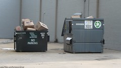DeKalb County Sanitation and Advanced Disposal Dumpsters (FormerWMDriver) Tags: old trash dumpster garbage disposal can front bin collection container cardboard rubbish end waste refuse recycle recycling load occ corrugated sanitation advanced 1920x1080 dekalbcountysanitation