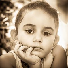 Jade - Spleen - 2 (aminefassi) Tags: 45mm chefchaouen maroc elmarit gf3 leica lumix marokko microfourthirds morocco morokko panasonic maroccos portrait retrato porträt square carré 肖像画 ritratto quadra sepia schwartz blackandwhite noir bw blanco quadrat africa kid child children girl people xauen chauen chefchauen chaouen rif xexauen regard eyes look mft 2012 m43 dmc arabic black blackwhite format 500 人 aminefassi copyright картина jade photographe marocain moroccan login