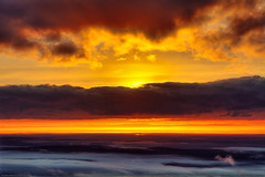 Acadia National Park (Greg from Maine) Tags: clouds sunrise reflections maine newengland barharbormaine acadia barharbor cadillacmountain schoodic acadianationalpark schoodicpeninsula