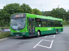 High Peak 748 Matlock (Guy Arab UF) Tags: bus buses high derbyshire peak wright matlock scania 748 transpeak centrebus k230ub wellglade yn08mro
