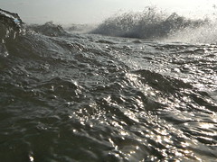 Wave energy - Fuji FinePix XP20 (kevin dooley) Tags: lake water fun cool fuji michigan wave bubbles lakemichigan finepix splash fujifinepix waterproofcamera